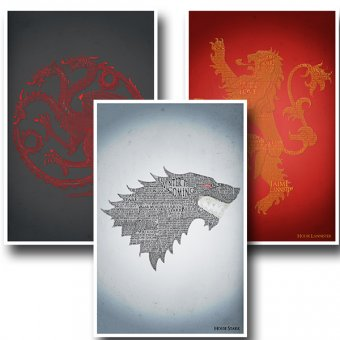 Game of Thrones Three Set