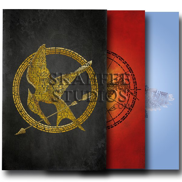 Hunger Games Three Set - Click Image to Close