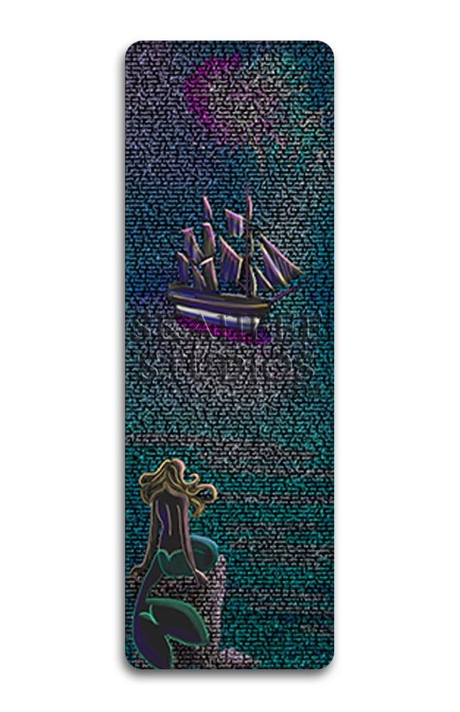 Little Mermaid Bookmark - Click Image to Close