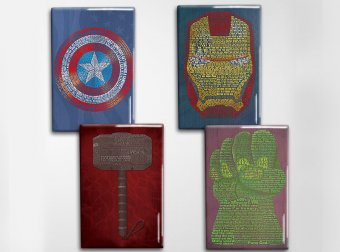 Avengers Art Magnet Set
