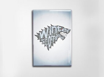 GoT Stark Art Magnet