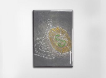 Half Blood Prince Art Magnet