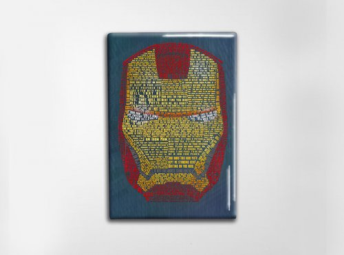 Iron Man Art Magnet