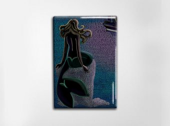 Little Mermaid Art Magnet
