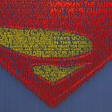 Superman Typography Print