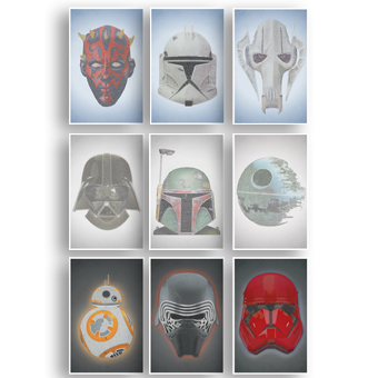 Star Wars Nine Set