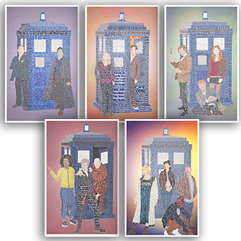 Doctor Who Five Set