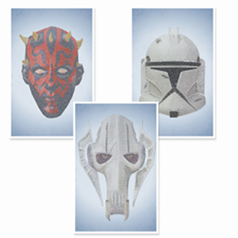 Star Wars Prequels Three Set